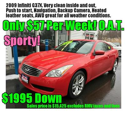 2009 Infiniti G37 Coupe for sale in Methuen MA