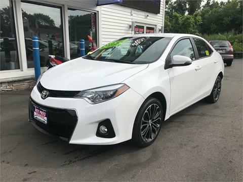 2014 Toyota Corolla for sale in Methuen MA