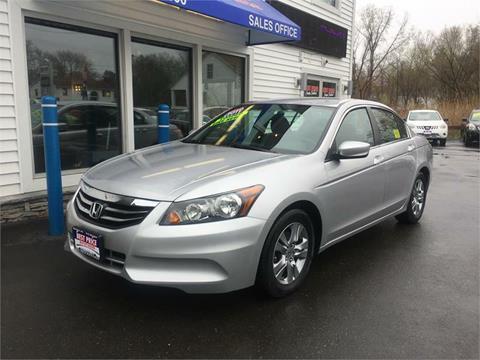 2011 Honda Accord for sale in Methuen MA