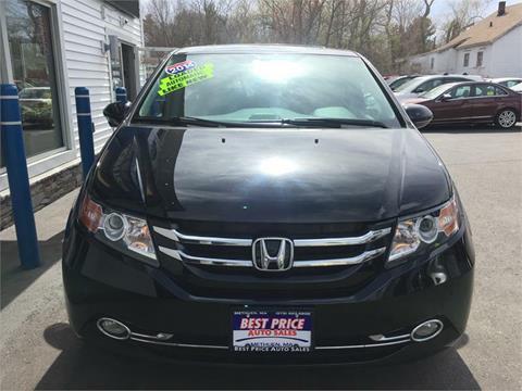 2014 Honda Odyssey for sale in Methuen MA