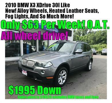 2010 BMW X3 for sale in Methuen MA