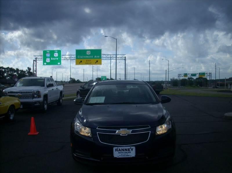2011 Chevrolet Cruze LT 4dr Sedan w/2LT - Eau Claire WI
