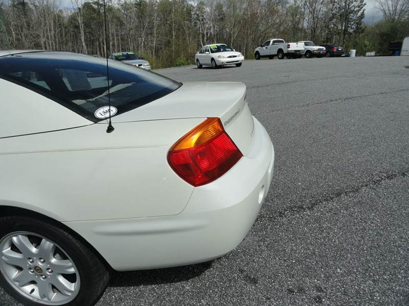 2002 Chrysler Sebring LXi 2dr Coupe - Granite Falls NC