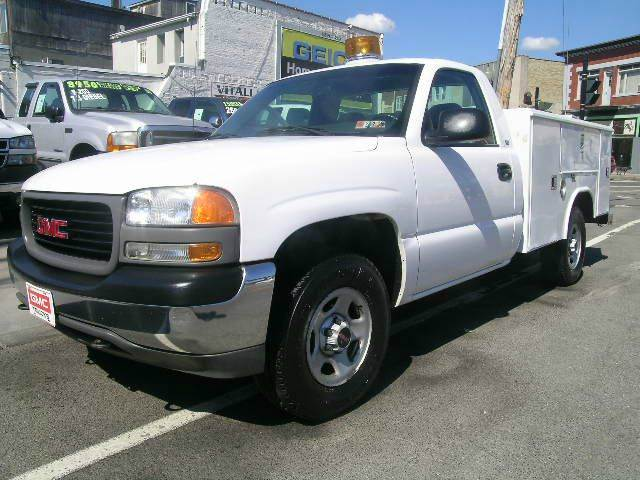 2001 gmc sierra 1500 2dr standard cab sl 4wd lb in johnson city ny vitali auto exchange. Black Bedroom Furniture Sets. Home Design Ideas