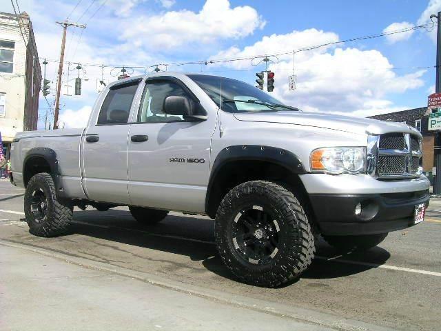 2004 dodge ram pickup 1500 slt 4x4 lifted quad cab 4dr sb in johnson city ny vitali auto exchange. Black Bedroom Furniture Sets. Home Design Ideas