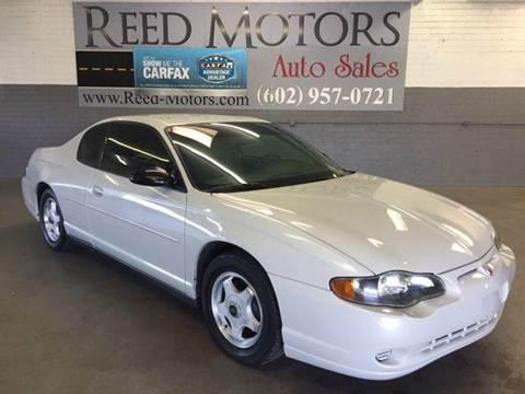 2004 Chevrolet Monte Carlo for sale in Phoenix, AZ