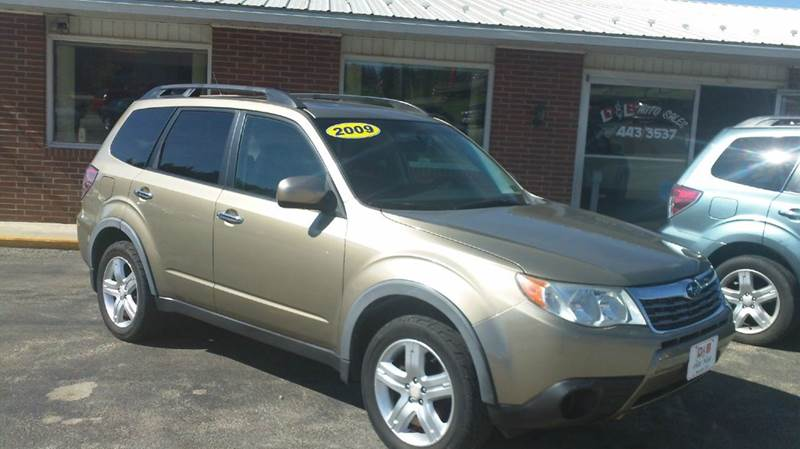 2009 subaru forester 2 5 x premium awd 4dr wagon 4a in somerset pa d b auto sales. Black Bedroom Furniture Sets. Home Design Ideas