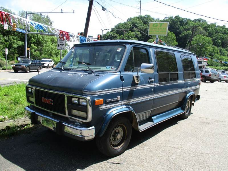1993 gmc vandura 2500 traveler in verona pa gt auto sales. Black Bedroom Furniture Sets. Home Design Ideas