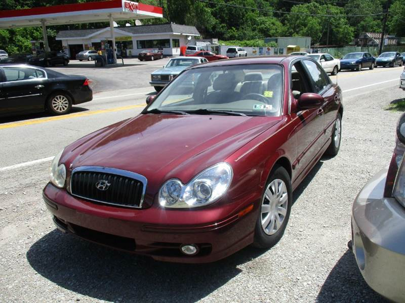 2004 hyundai sonata v6 4dr sedan in verona pa gt auto sales. Black Bedroom Furniture Sets. Home Design Ideas