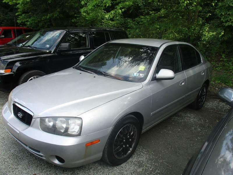 2003 hyundai elantra gls 4dr sedan in verona pa gt auto. Black Bedroom Furniture Sets. Home Design Ideas