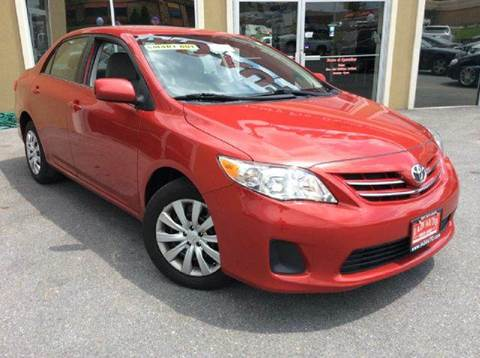 2013 Toyota Corolla for sale in Beltsville, MD