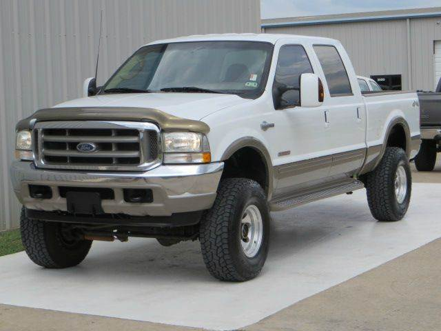 used 2003 ford f 250 super duty king ranch 4x4 lifted diesel in houston tx at diesel of houston. Black Bedroom Furniture Sets. Home Design Ideas