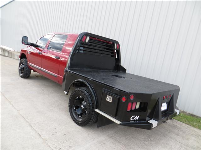 2007 Dodge Ram 3500 SLT MegaCab DIESEL 4X4 FLATBED - Houston TX