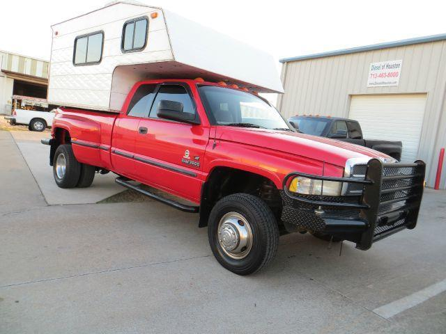 1999 Dodge Ram 3500 5.9 5spd CUMMINS4X4 MOTOR HOME - Houston TX