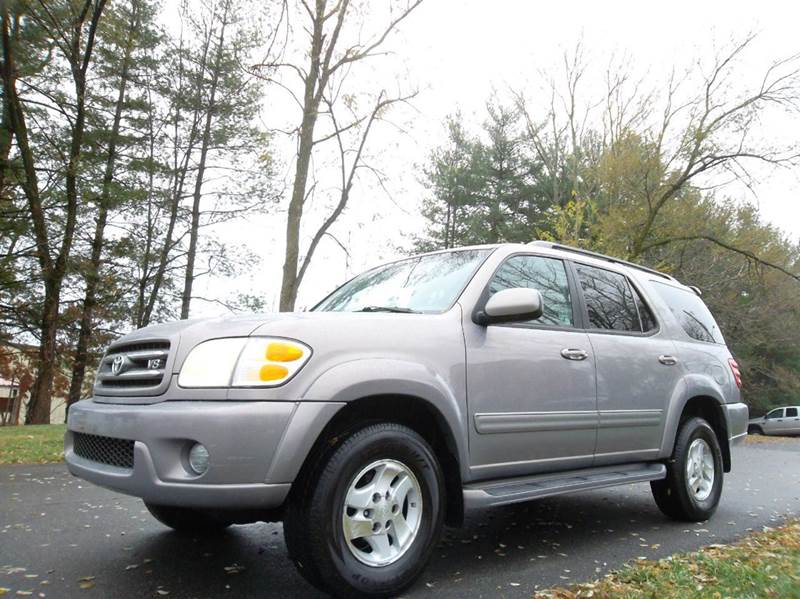 2002 toyota sequoia limited 4wd 4dr suv in leesburg va. Black Bedroom Furniture Sets. Home Design Ideas