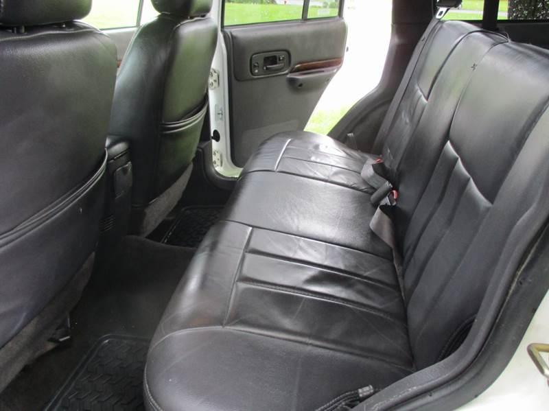 2000 Jeep Cherokee 4dr Limited 4WD SUV - Leesburg VA