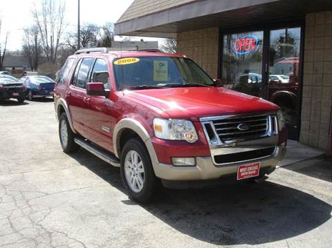used 2008 ford explorer for sale in wisconsin. Black Bedroom Furniture Sets. Home Design Ideas