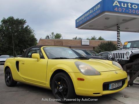2002 Toyota MR2 Spyder For Sale In Orlando, FL