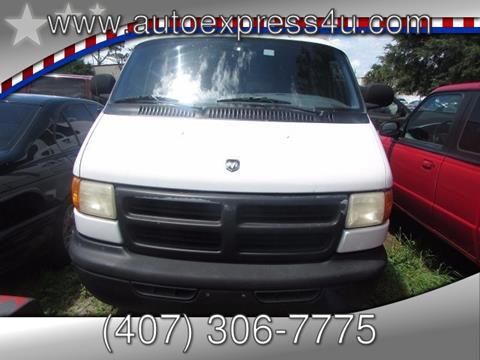 2000 Dodge Ram Van for sale in Orlando, FL