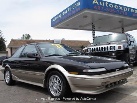 1988 Toyota Corolla for sale in Orlando, FL