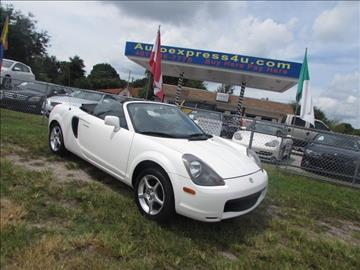 2001 Toyota MR2 Spyder for sale in Orlando, FL