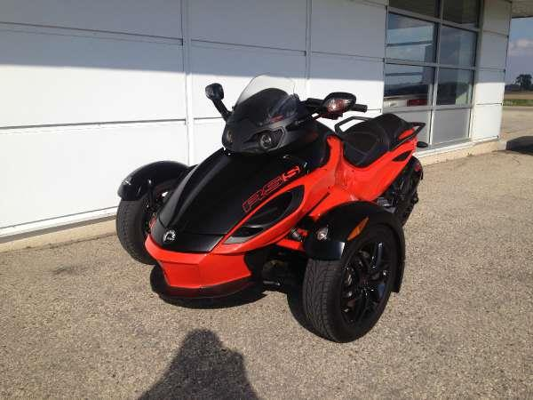 2012 Can-Am Spyder RS-S SM5 - ARLINGTON, WI