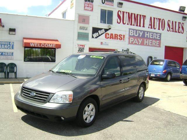 2004 Ford Freestar for sale in Pontiac MI