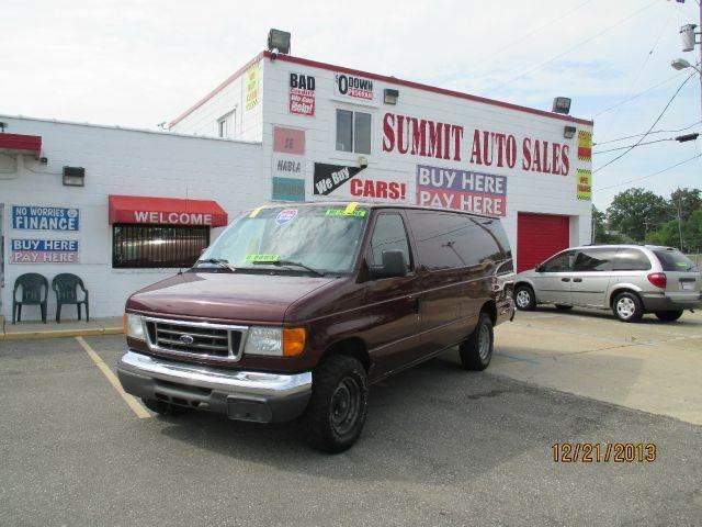 2006 Ford Econoline for sale in Pontiac MI