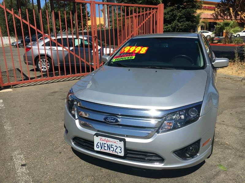 2012 Ford Fusion SEL 4dr Sedan - Sacramento CA