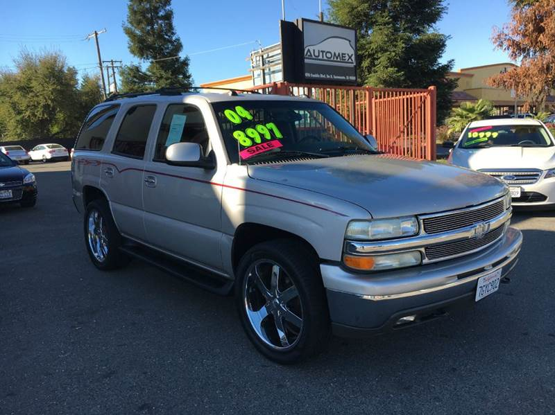 2004 chevrolet tahoe lt 4wd 4dr suv in sacramento ca automex. Black Bedroom Furniture Sets. Home Design Ideas