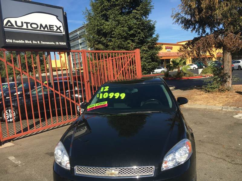 2012 Chevrolet Impala LT Fleet 4dr Sedan - Sacramento CA