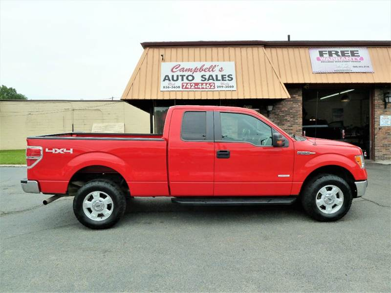 2014 Ford F-150 4x4 XLT 4dr SuperCab Styleside 6.5 ft. SB - Louisville KY