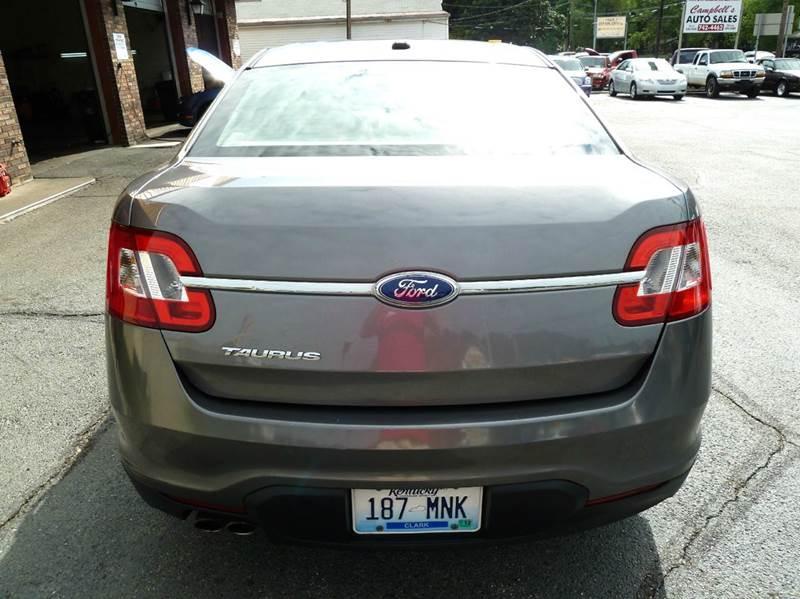 2012 Ford Taurus SE 4dr Sedan - Louisville KY