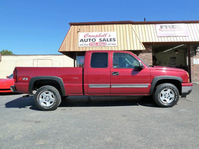 2006 Chevrolet Silverado 1500 LS 4dr Extended Cab 4WD 6.5 ft. SB - Louisville KY