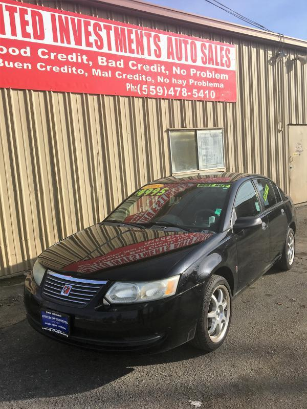 2005 Saturn Ion 1 4dr Sedan In Fresno Ca United Investments Auto