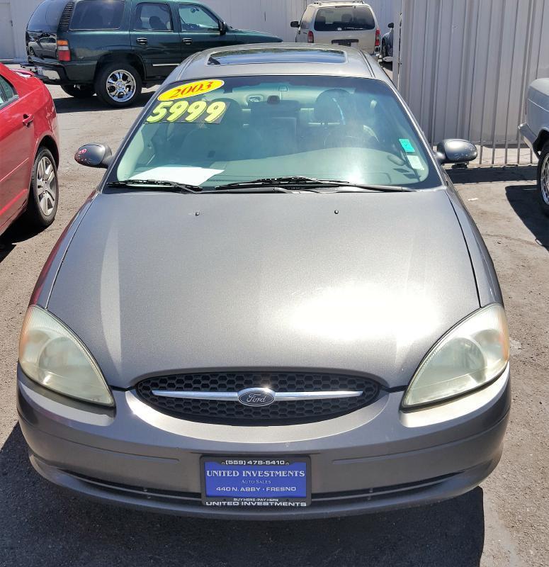 2003 Ford Taurus Sel Deluxe 4dr Sedan In Fresno Ca