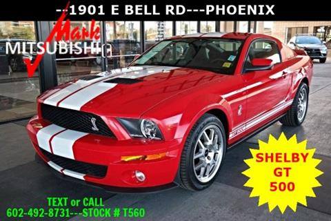 2009 Ford Shelby GT500 for sale in Phoenix, AZ