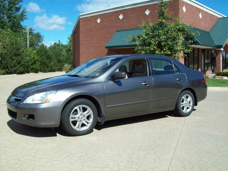 2007 honda accord for sale in michigan. Black Bedroom Furniture Sets. Home Design Ideas