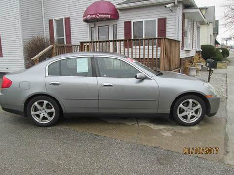 2004 Infiniti G35 for sale in Shelbyville, IN