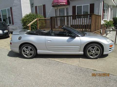 2004 Mitsubishi Eclipse Spyder for sale in Shelbyville, IN