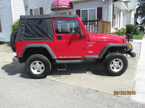 2000 Jeep Wrangler for sale in Shelbyville, IN