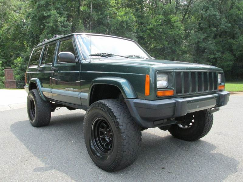 1999 jeep cherokee sport 4dr 4wd suv in charlotte nc furrst class cars. Cars Review. Best American Auto & Cars Review