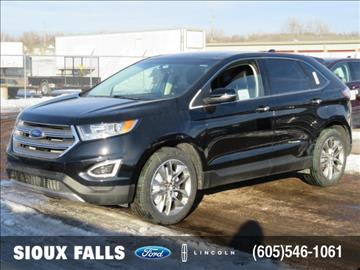 ford edge for sale sioux falls sd. Black Bedroom Furniture Sets. Home Design Ideas