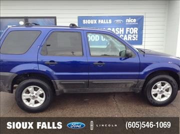 2006 Ford Escape for sale in Sioux Falls, SD