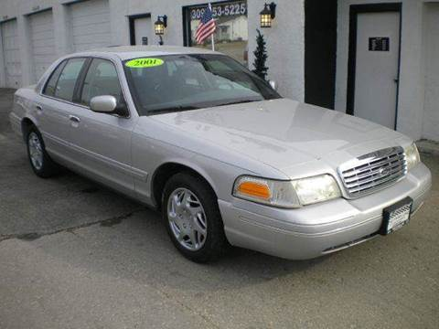 2001 Ford Crown Victoria for sale in Kewanee, IL