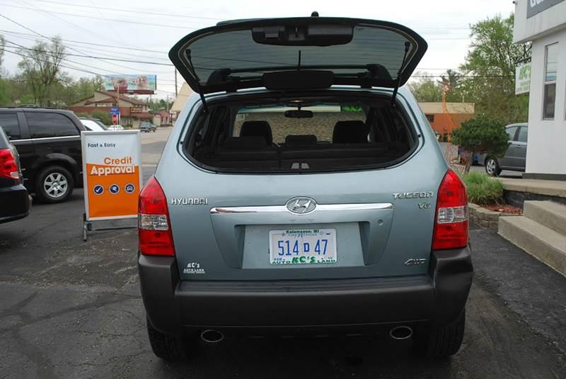 2007 Hyundai Tucson SE 4dr SUV 4WD - Kalamazoo MI
