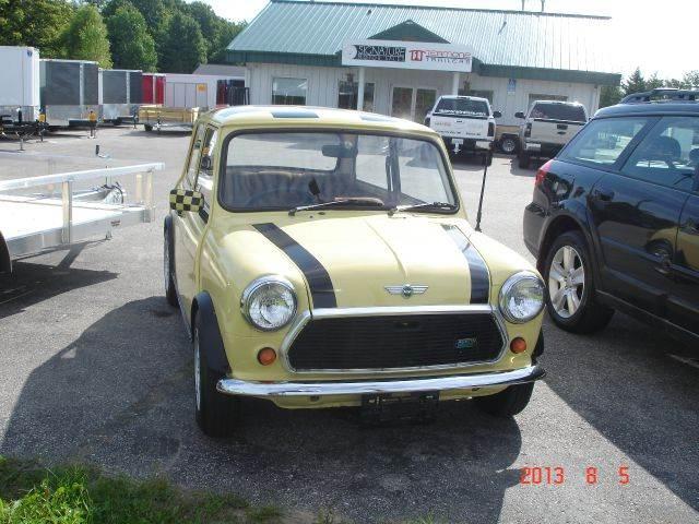 1976 mini cooper in traverse city mi signature motor sales for Motor city mini cooper