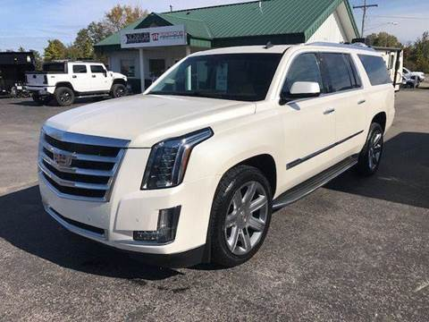2015 Cadillac Escalade ESV for sale in Traverse City, MI