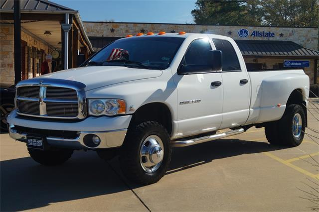 used 2004 dodge ram pickup 3500 laramie in tyler tx at tyler car truck center. Black Bedroom Furniture Sets. Home Design Ideas