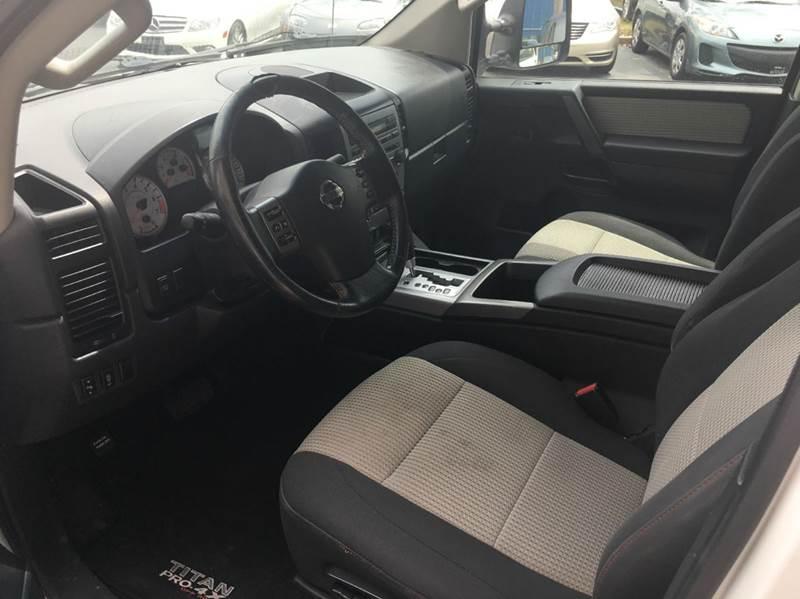 2012 Nissan Titan 4x4 PRO-4X 4dr Crew Cab SWB Pickup - Tallahassee FL